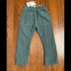 NWT Zara Boys Pull-On Cotton Pants sz 4-5 years